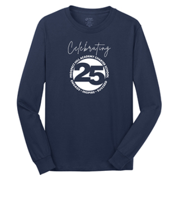 25th Anniversary long-sleeve T