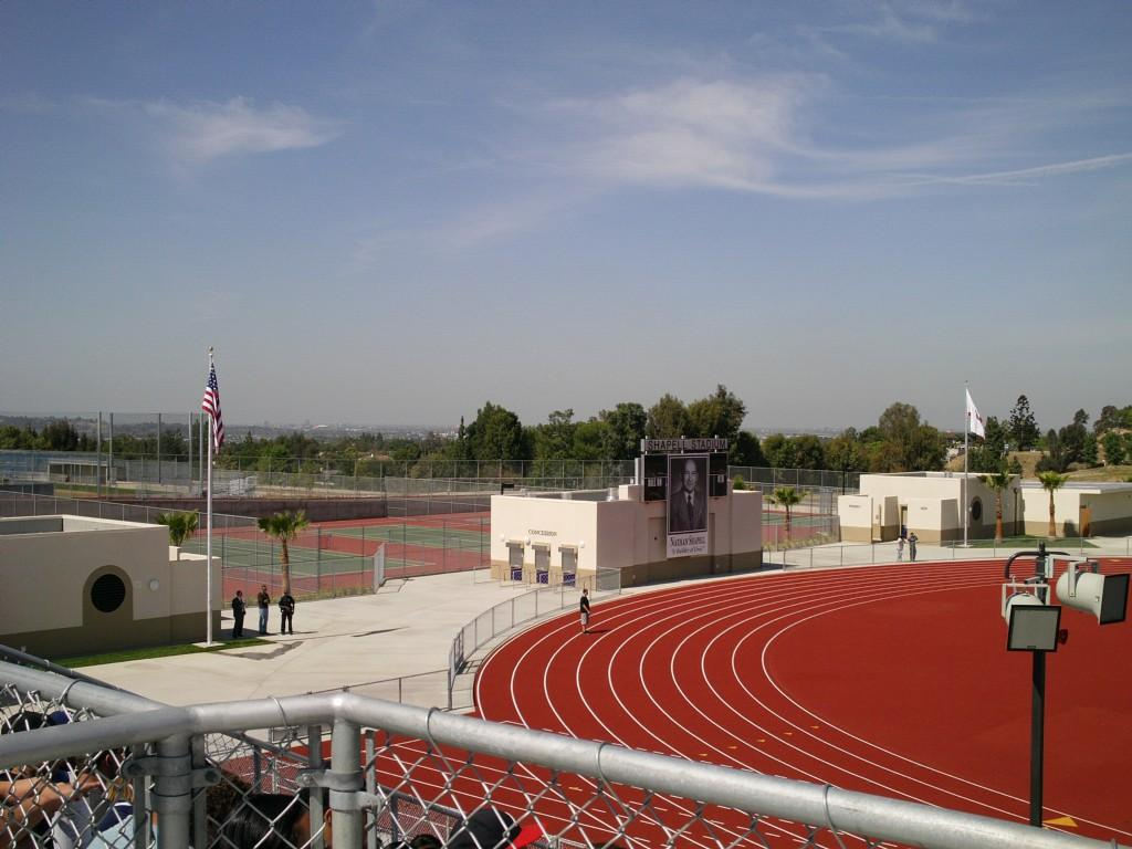 Shapell Stadium dedication ceremony.  June 2nd 2012