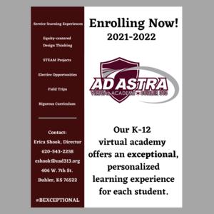 Logo for Ad Astra Virtual Academy