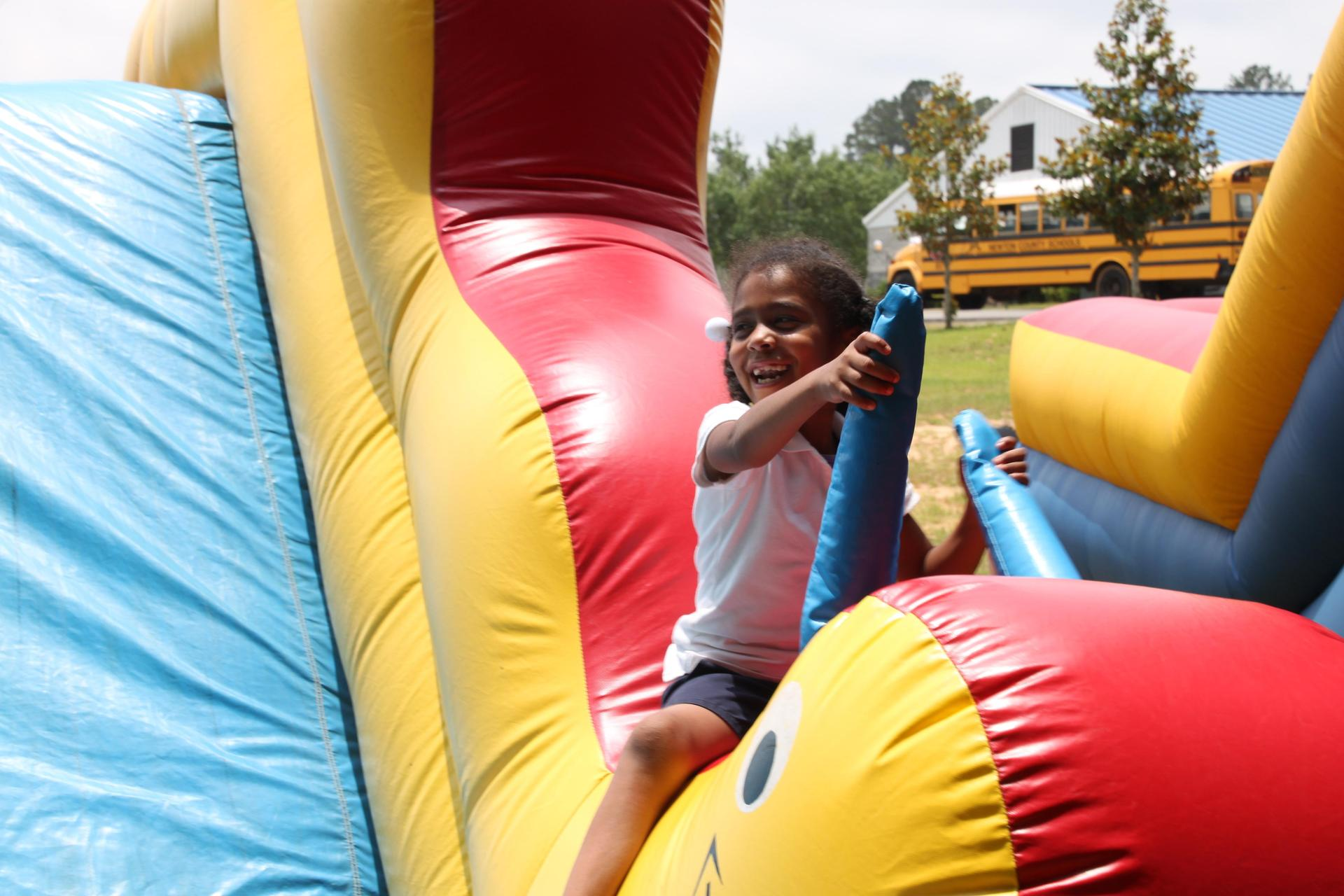 Picture of Female Student at Fun Day