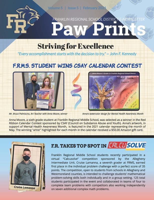Paw Prints: Feb. 2021