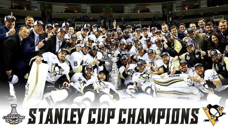Pittsburgh Penguins 2016 Championship team photo