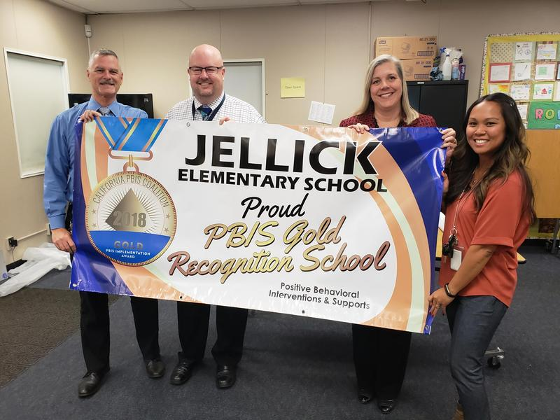 We are proud to be PBIS Gold Recognition School Thumbnail Image