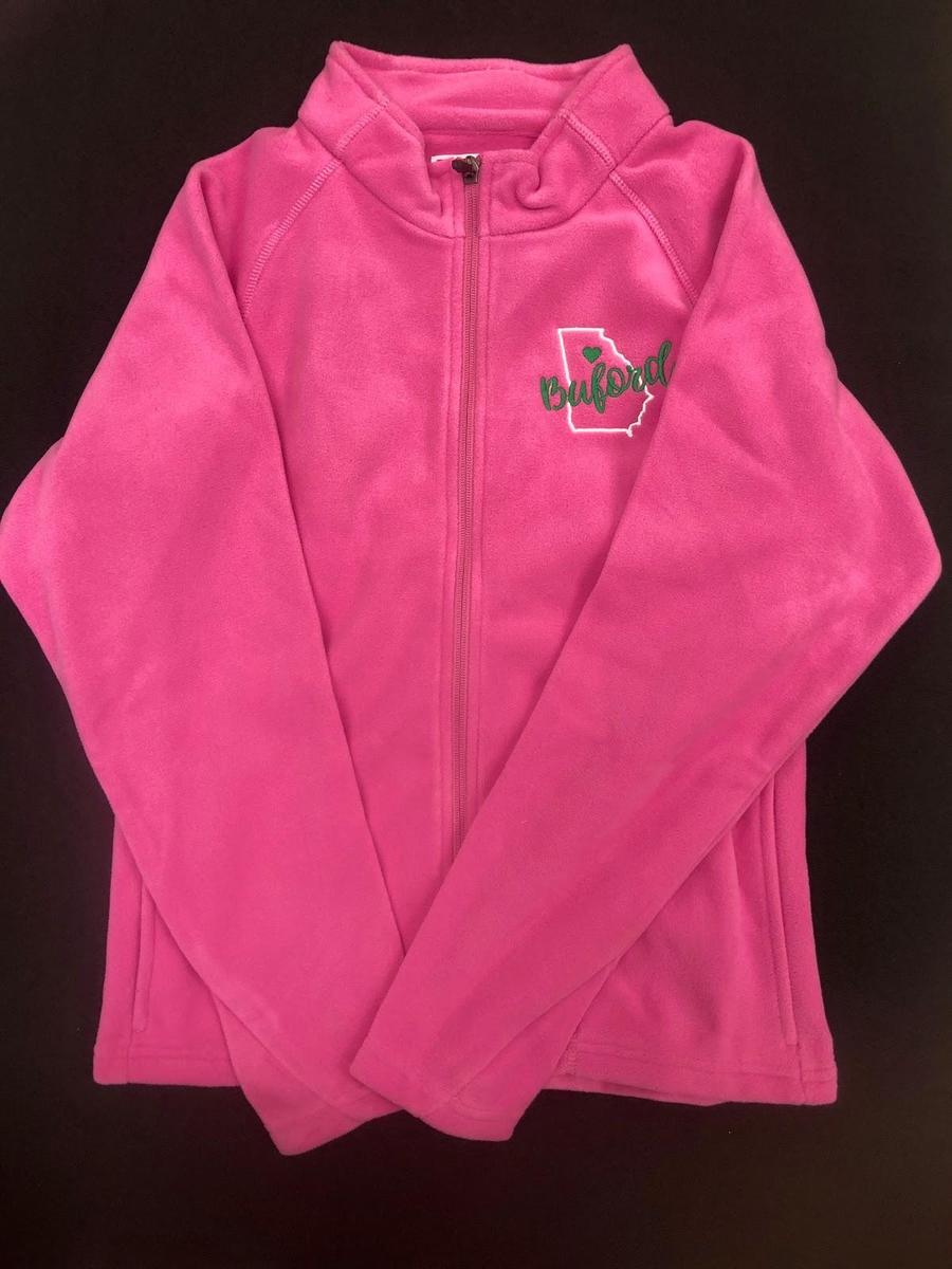 Girls Pink Fleece Jacket