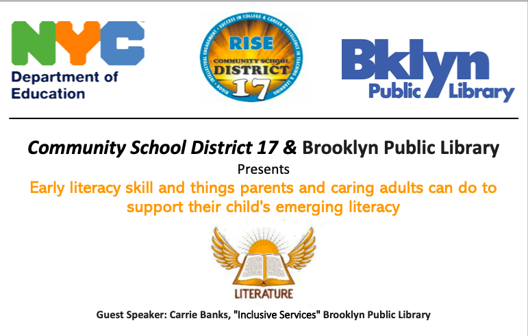 ***Literacy Skills Workshop for Parent*** Featured Photo
