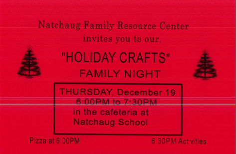 FRC Holiday Crafts Family Night Thumbnail Image