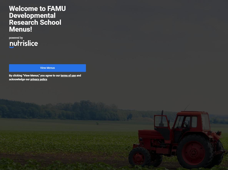 FAMU DRS Nutrislice Site Graphic