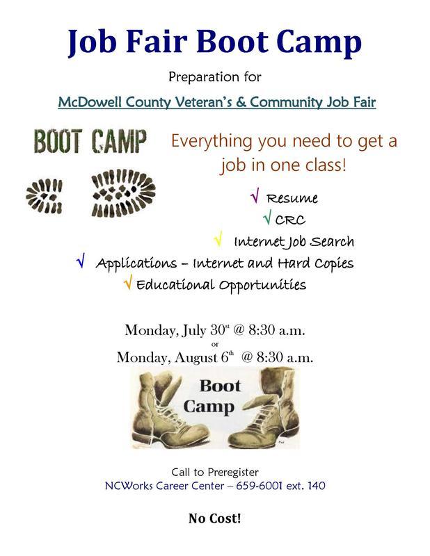 job boot camp