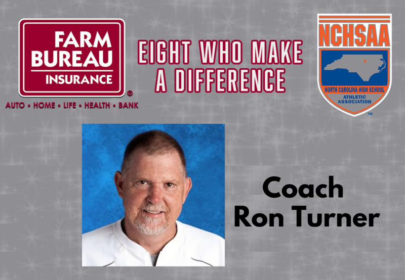 """Turner Chosen as Recipient of NCHSAA Homer Thompson Memorial """"Eight Who Make a Difference"""" Award Thumbnail Image"""