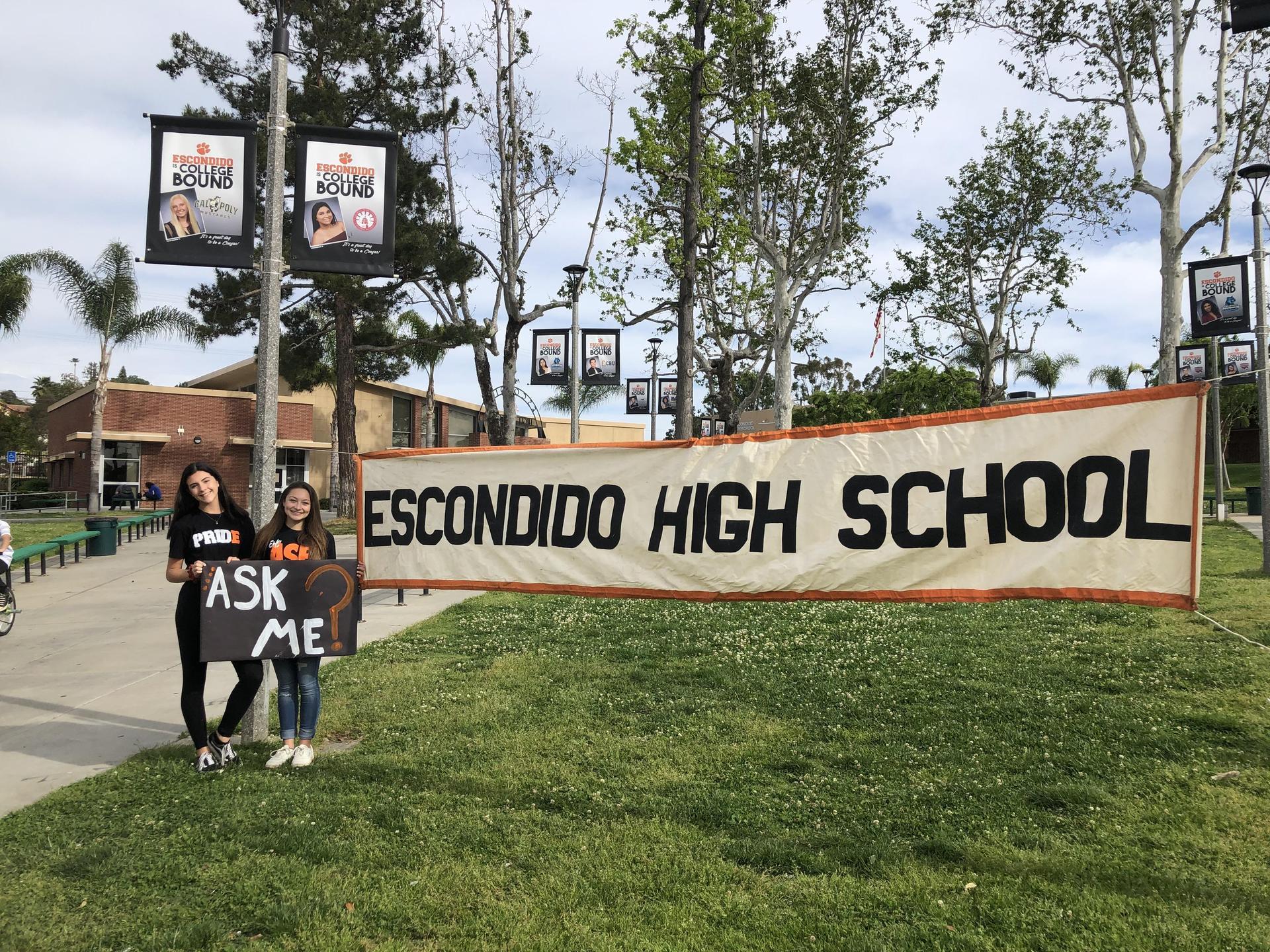 Welcome to Escondido High School!!
