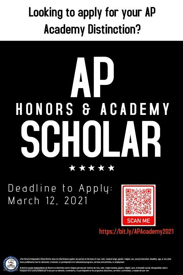 AP Academy Award Flyer
