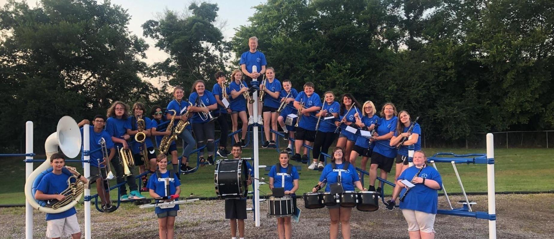 JCMS band picture