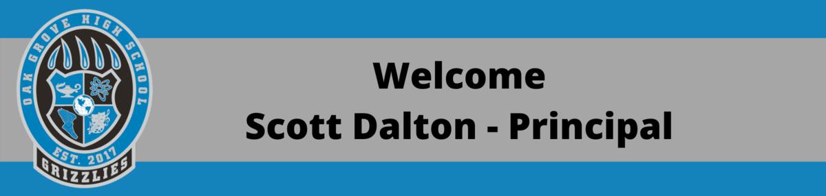 Welcome - Scott Dalton