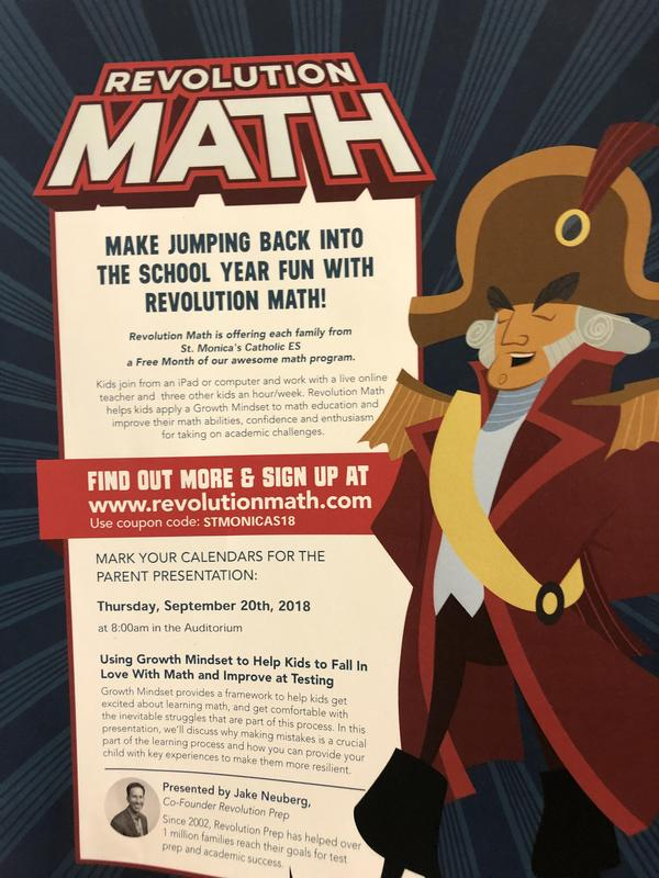 Revolution Math! The smart afternoon activity. Featured Photo