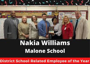 School Related Employee of the Year