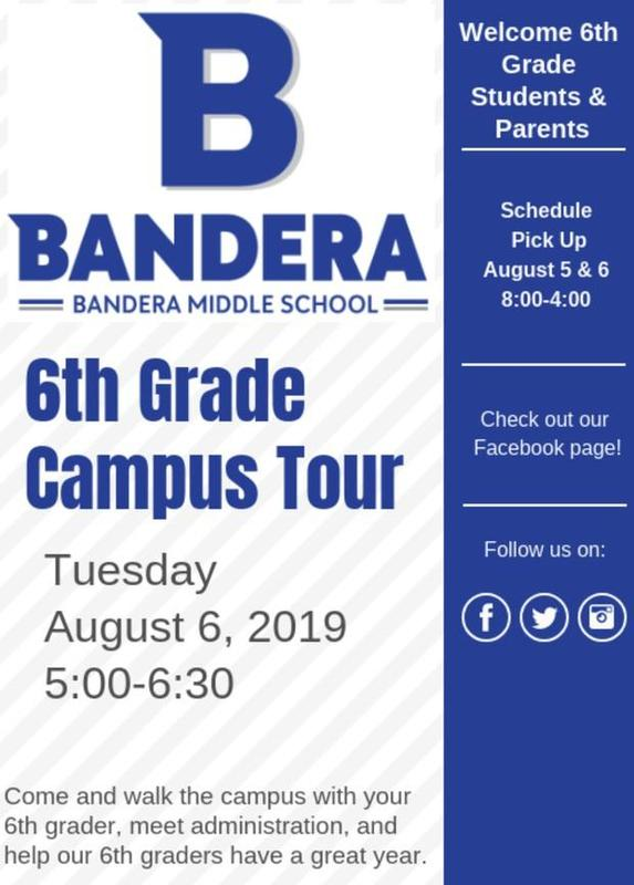6th grade campus tour