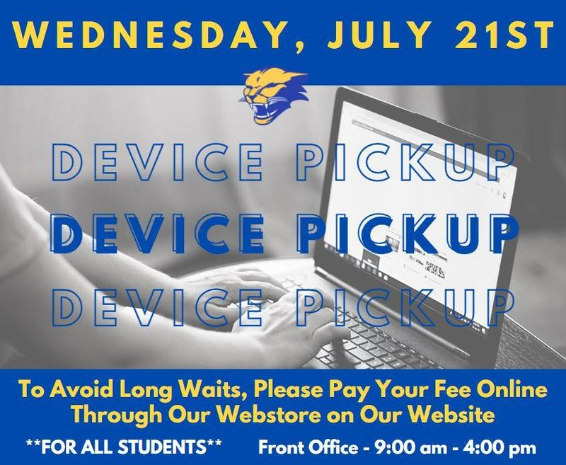 Additional Device Pickup day