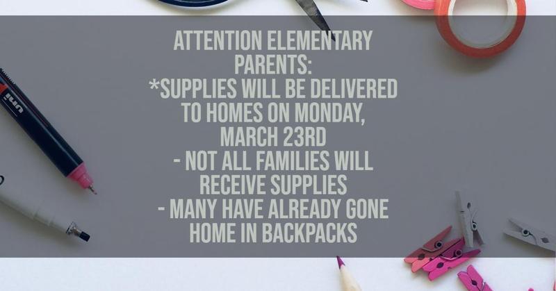 Elementary Supplies