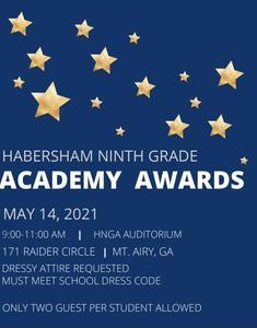 Academy Awards invitation