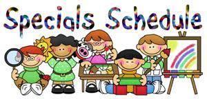 Special Class Schedule
