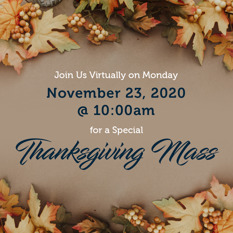 Thanksgiving Mass Featured Photo