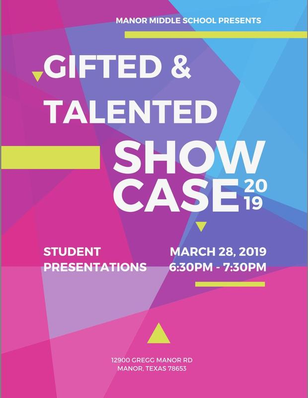 Gifted and Talented Showcase Thumbnail Image