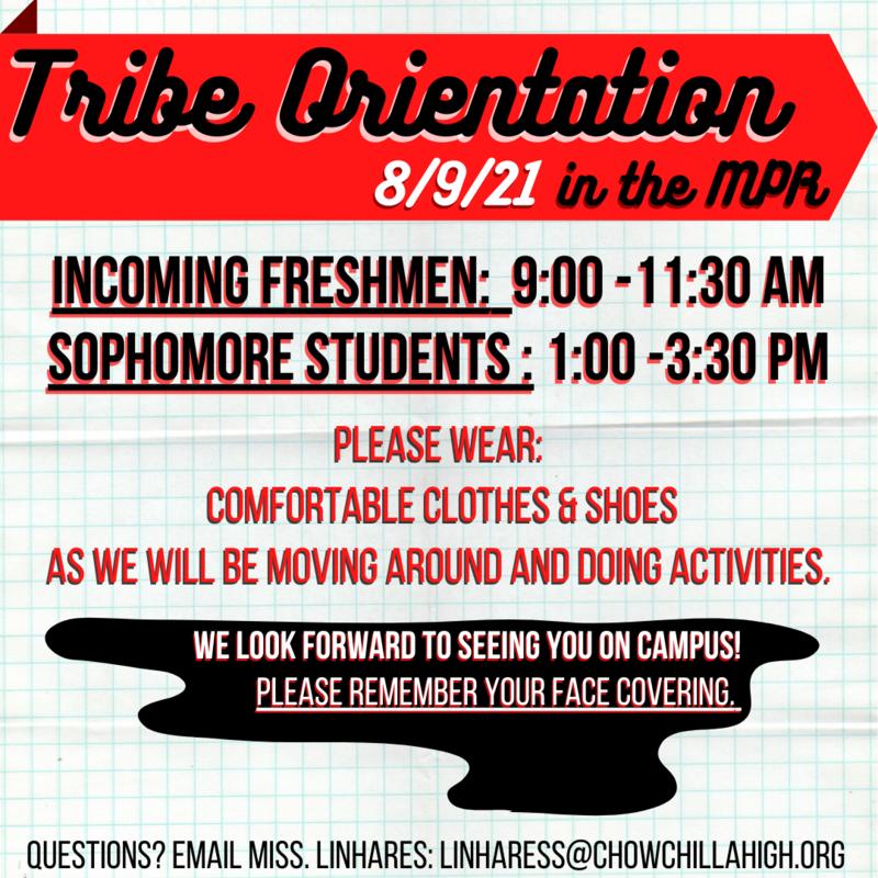 Tribe orientation