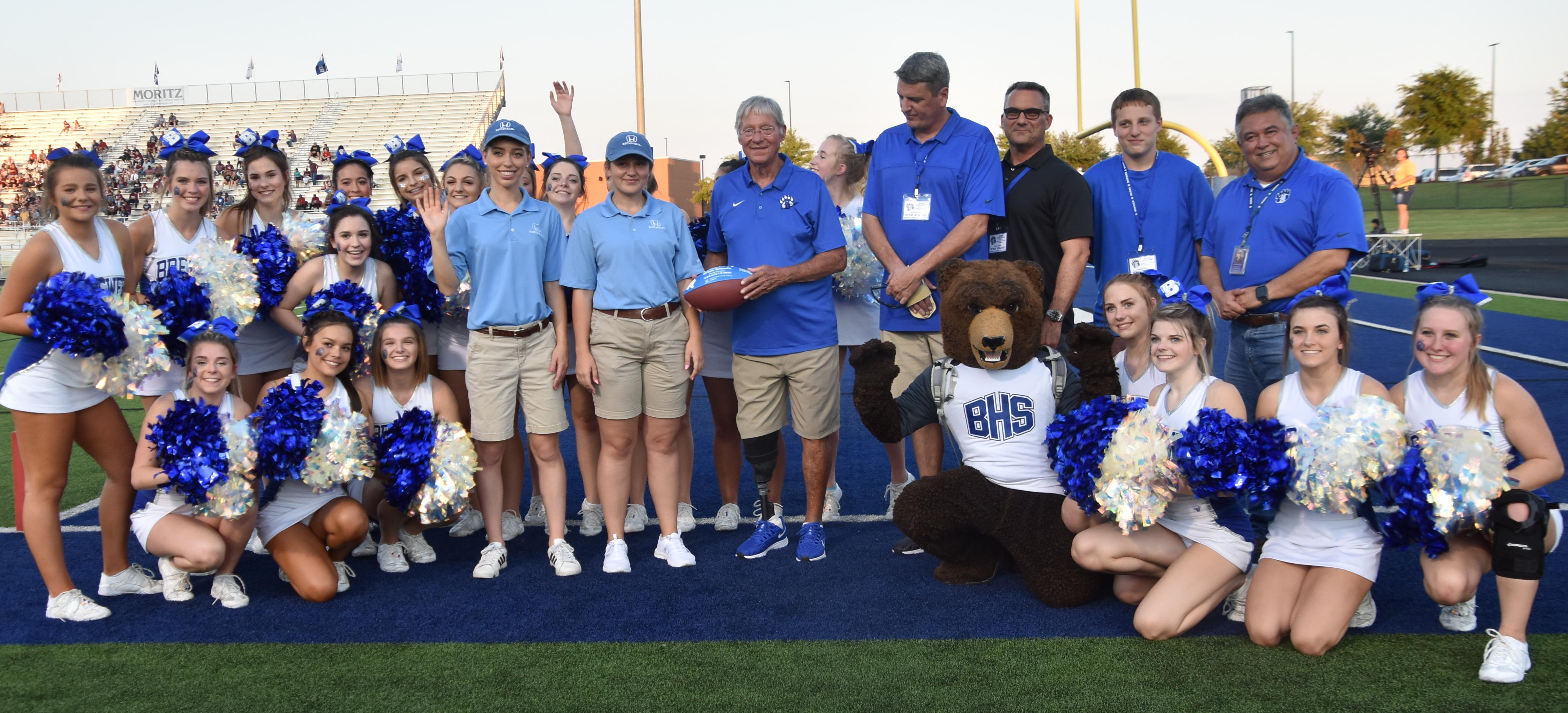 Dave Campbell's Texas Football Honors Coach Ben Davis with Community Helper Appreciation Award