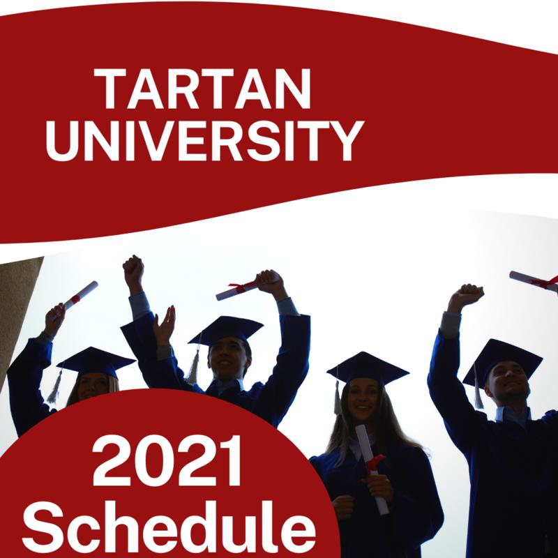 Tartan University Graphic