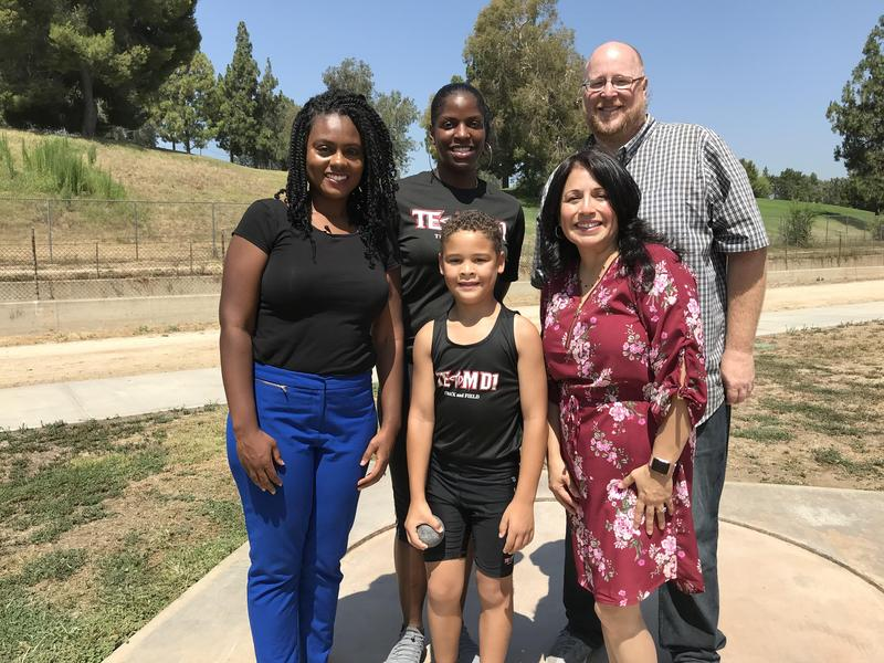Incoming 7-Year-Old Park Student Heading to the Jr. Olympics! Featured Photo