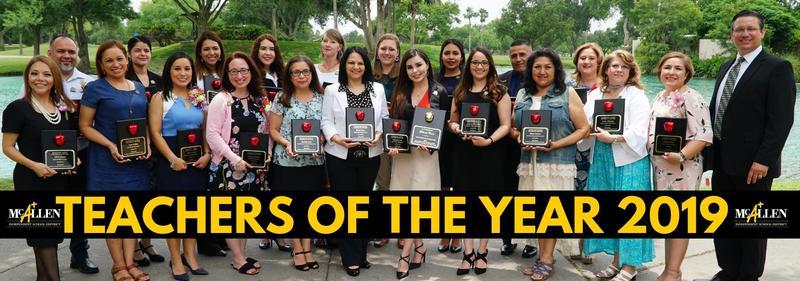 McAllen ISD Teachers of the Year 2019