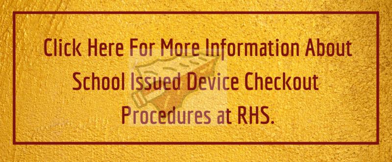 School Issued Device Pickup Information Thumbnail Image