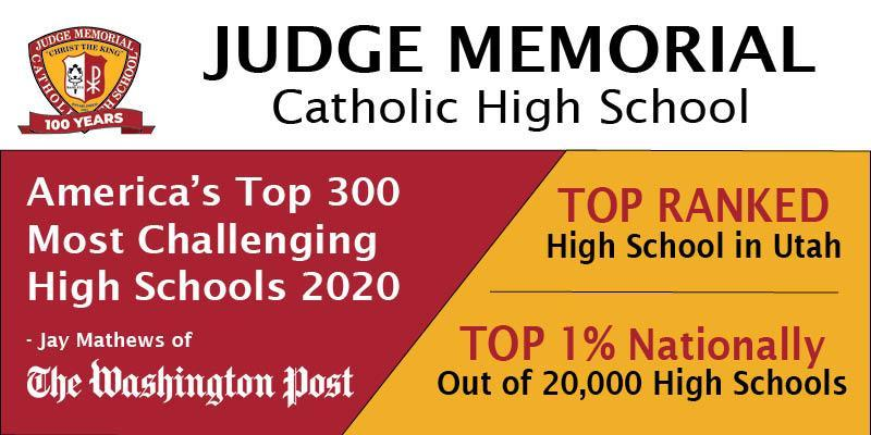 Judge Ranked in Top-300 Schools for 2020 Featured Photo