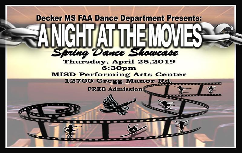 DMSFAA Dance Dept. presents