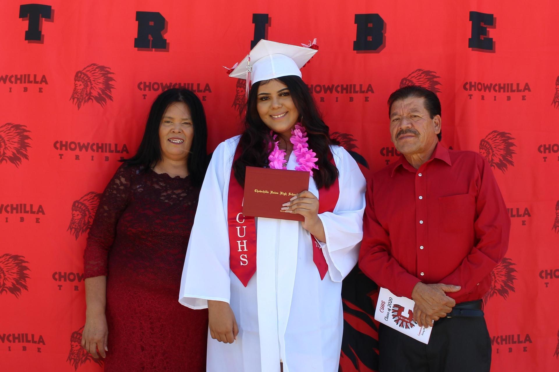 Selena Silva and family