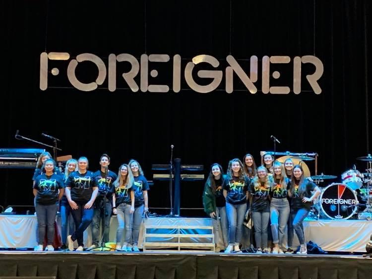 Foreigner with MRHS Choir