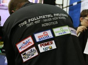 Xavier's Full Metal Falcons robotics team
