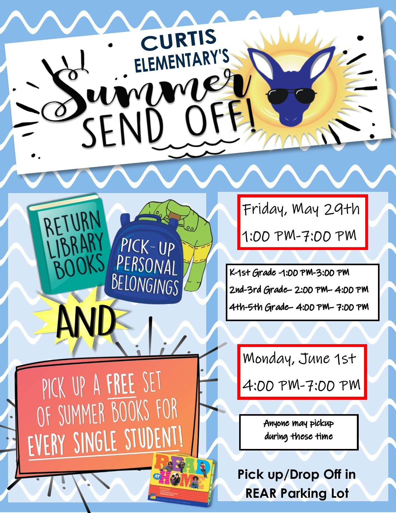 Summer Send Off Flyer