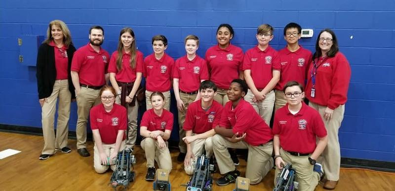 PCMS Robotics Team Place at Competition Featured Photo