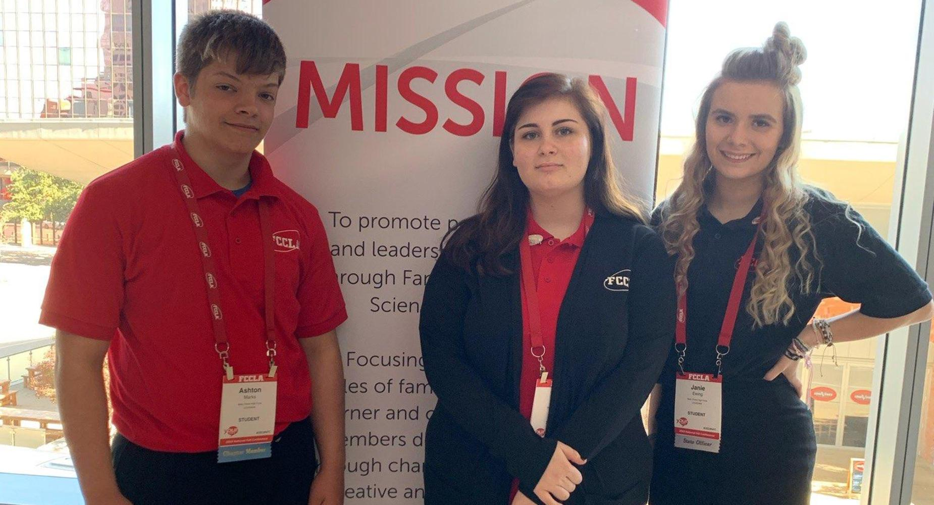 Student attended the FCCLA convention
