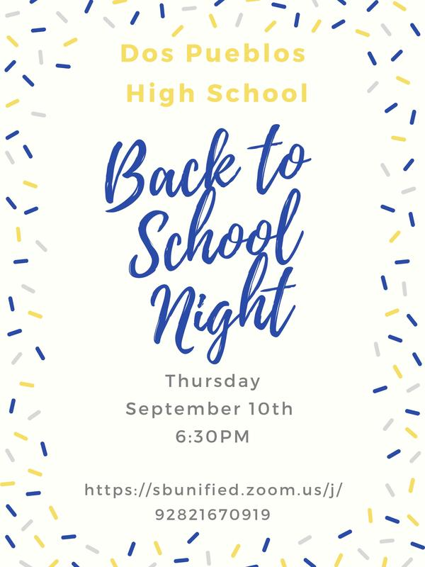 Videos & Resources from Back to School Night 2020 / Videos y recursos de la Noche de Regreso a la Escuela 2020 Featured Photo