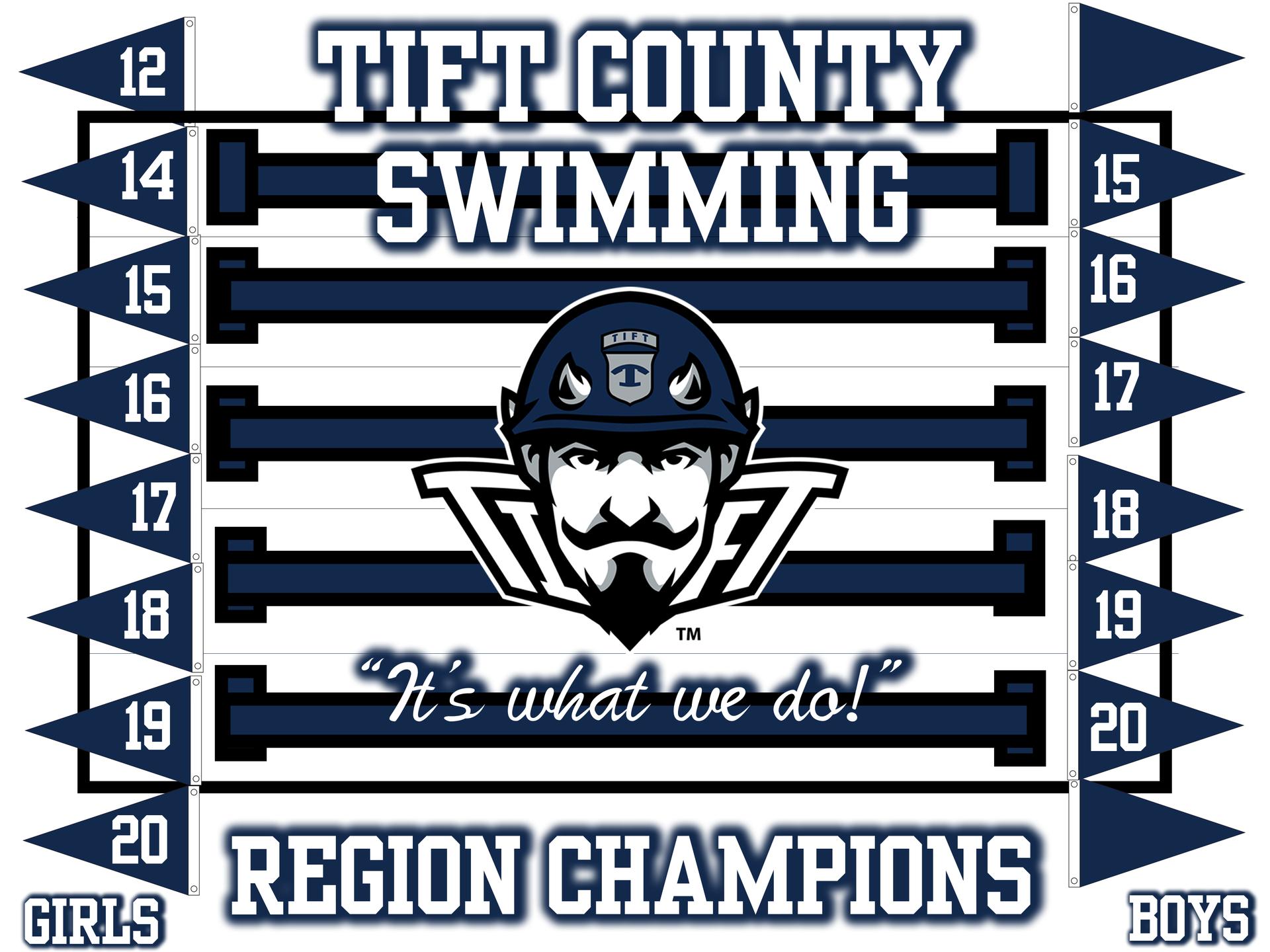 Swim Region Champions