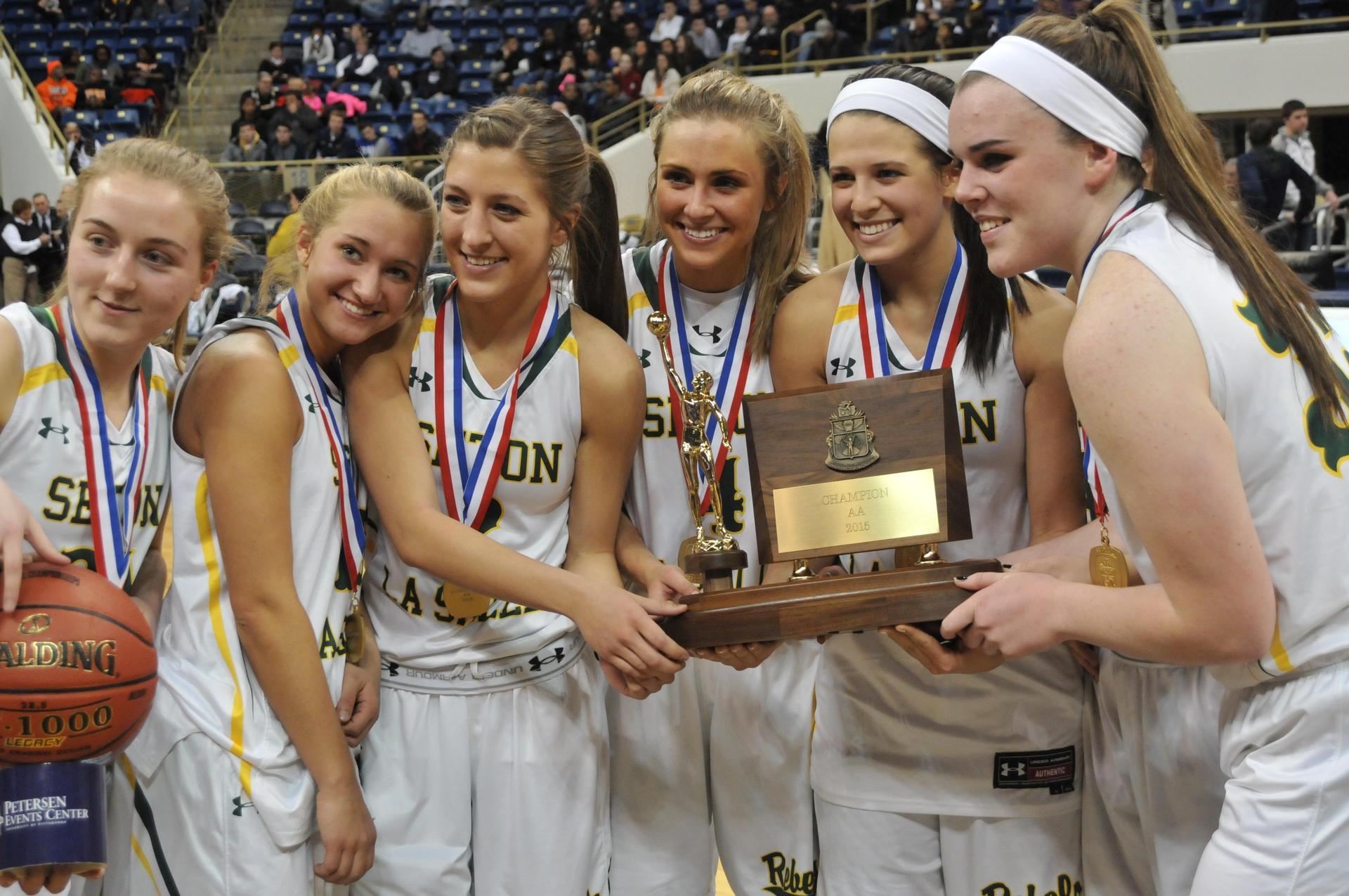 Girls Basketball WPIAL trophy