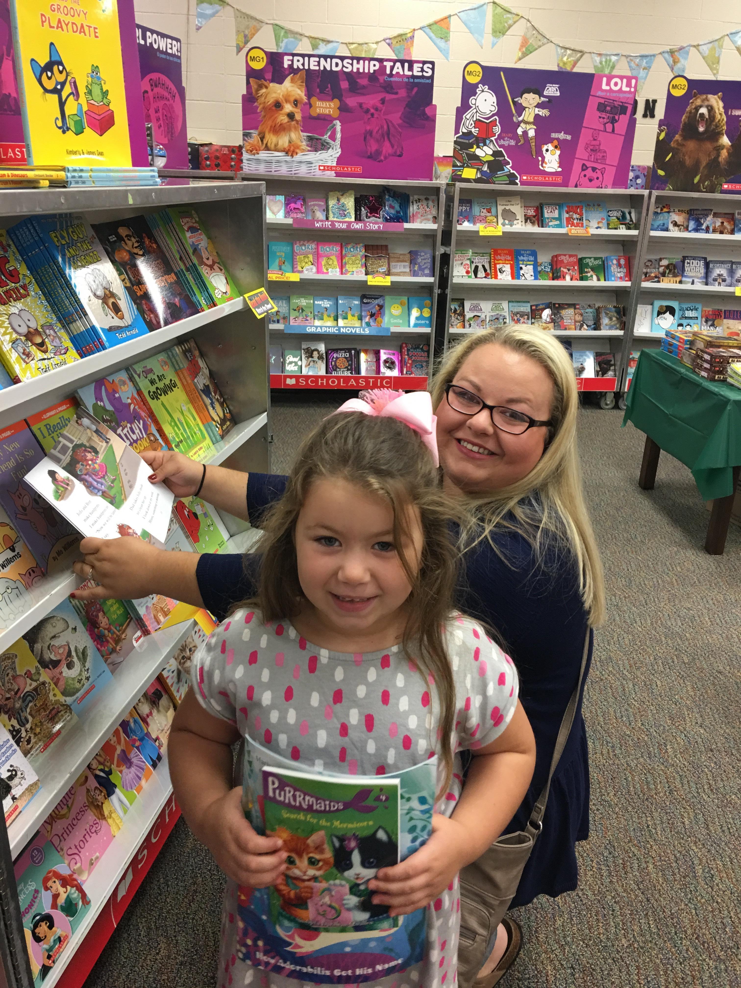 Book Fair Browsing