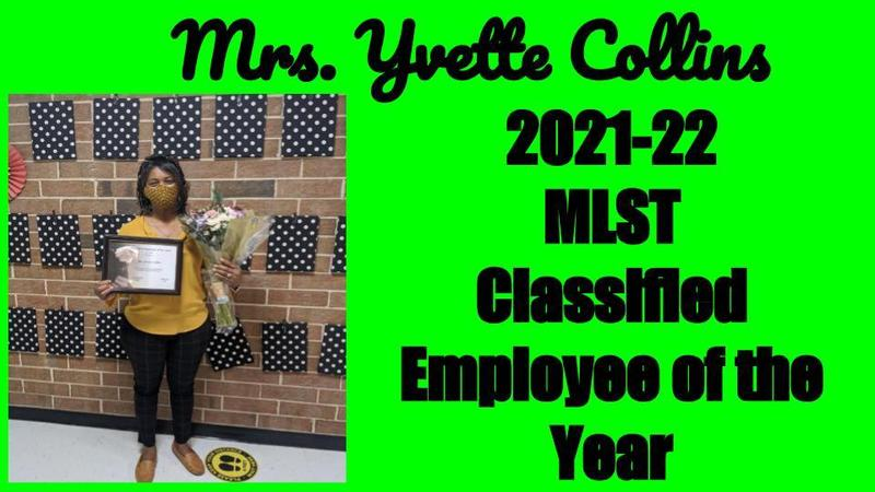 2021-22 MLST Classified Employee of the Year Featured Photo