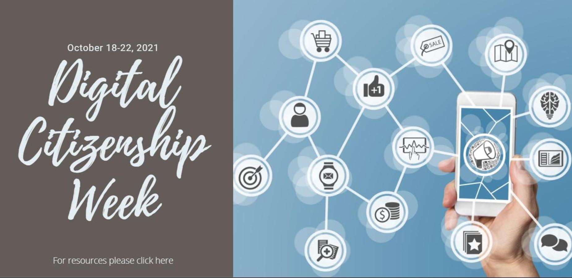 Digital Citizenship Week October 18-22