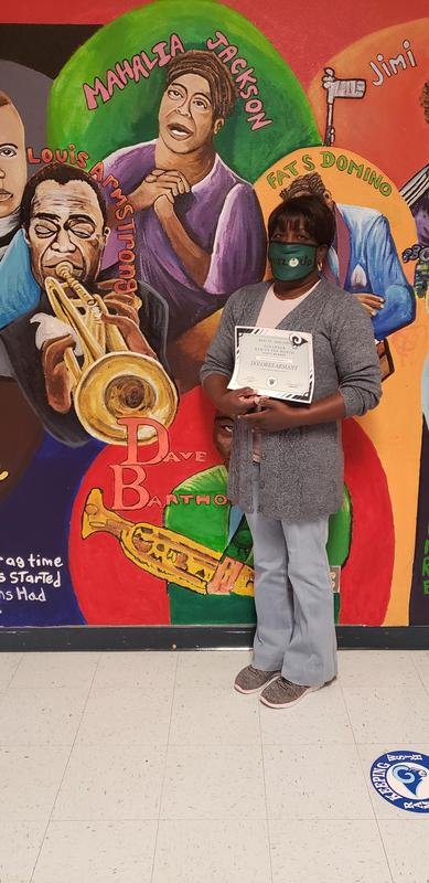Dolores Armant, Staff of the Month, November