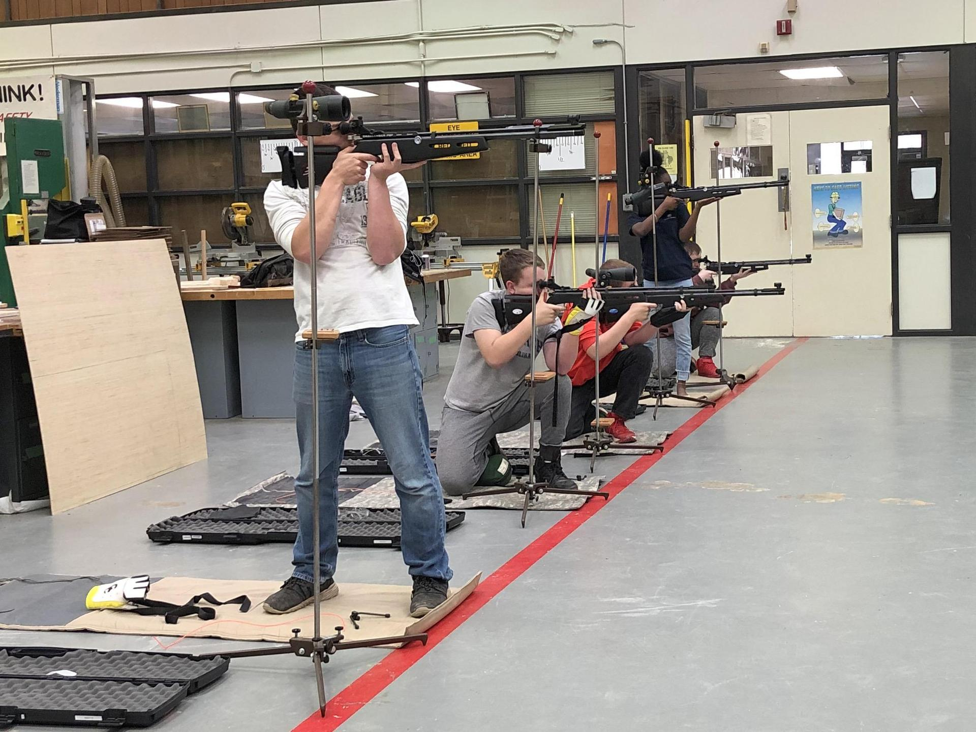 Bulldog JROTC Marksmanship Team