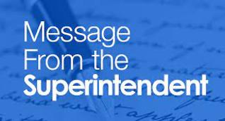 Superintendent Message Logo