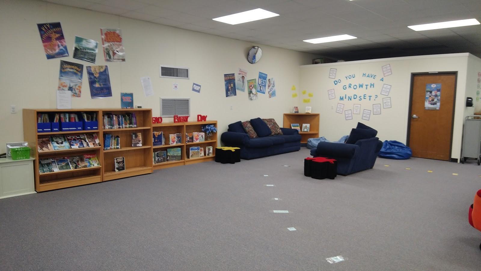 Intermediate Library Reading Area